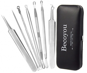 Becoyou Blackhead Removal Tool and Pimple Popping Kit